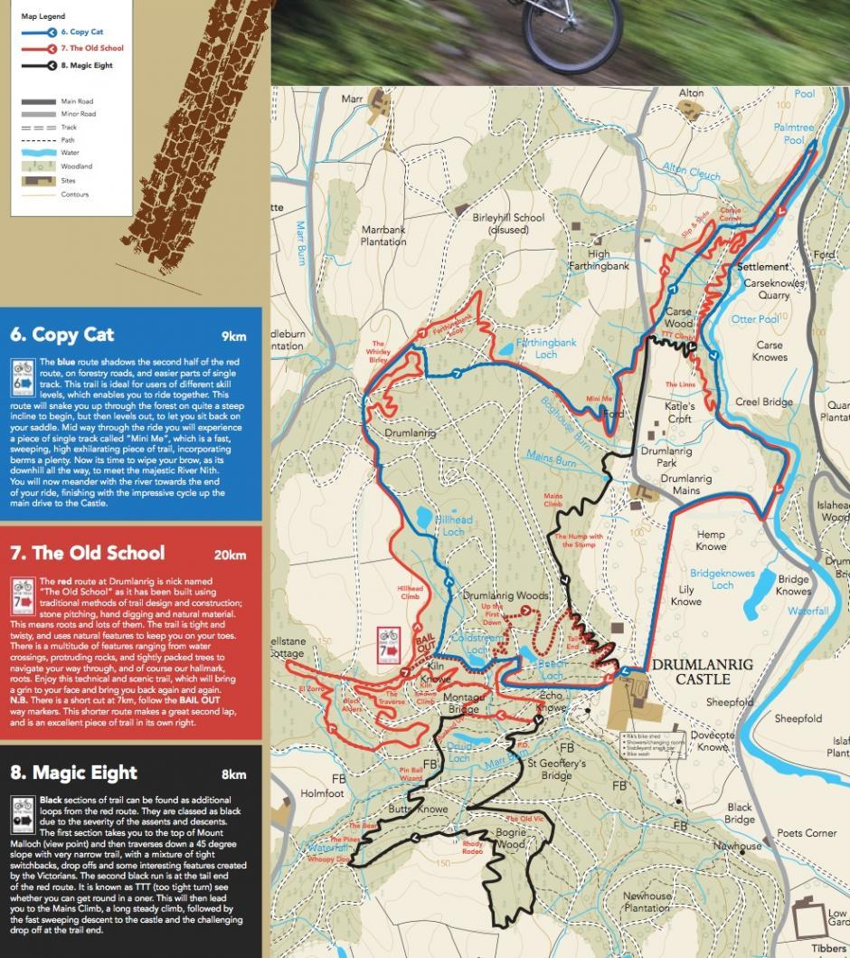 Drumlanrig - Mountain Bike Spot