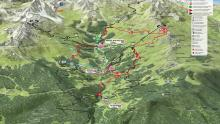 Meribel - Map Overview
