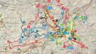 Sestriere Trail Map