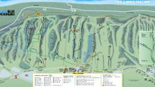 Blue Mountain trail map