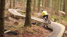 Coed Llandegla - Neil Donoghue rides B-Line