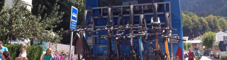 Bike shuttle - Beaufort - Les Saises